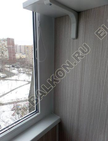 osteklenie lodzhii pvh otdelka osveschenie potolochnaja sushka28 387x291 - Фото остекления балкона № 46