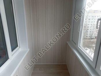 osteklenie lodzhii pvh otdelka osveschenie potolochnaja sushka3 387x291 - Фото остекления балкона № 46