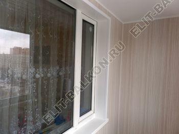 osteklenie lodzhii pvh otdelka osveschenie potolochnaja sushka5 387x291 - Фото остекления балкона № 46
