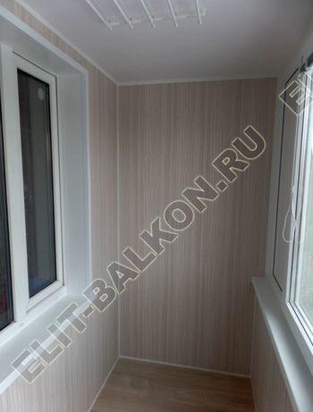 osteklenie lodzhii pvh otdelka osveschenie potolochnaja sushka7 387x291 - Фото остекления балкона № 46