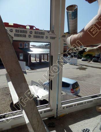 Balkon osteklennyj PVH ot pola do potolka 10 387x291 - Фото остекления балкона № 53
