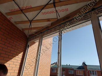 Balkon osteklennyj PVH ot pola do potolka 15 387x291 - Фото остекления балкона № 53