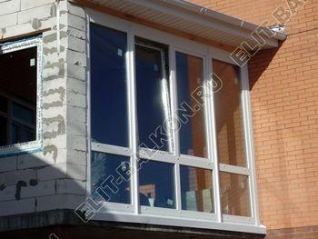 Balkon osteklennyj PVH ot pola do potolka 21 387x291 - Фото остекления балкона № 53