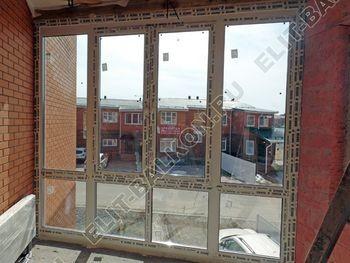 Balkon osteklennyj PVH ot pola do potolka 23 387x291 - Фото остекления балкона № 53
