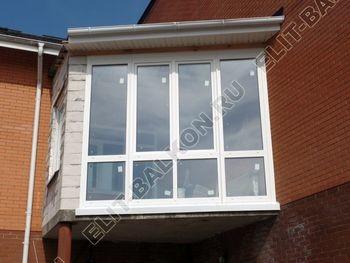 Balkon osteklennyj PVH ot pola do potolka 24 387x291 - Фото остекления балкона № 53