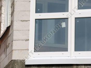 Balkon osteklennyj PVH ot pola do potolka 25 387x291 - Фото остекления балкона № 53