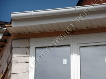 Balkon osteklennyj PVH ot pola do potolka 27 387x291 - Фото остекления балкона № 53