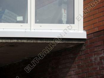 Balkon osteklennyj PVH ot pola do potolka 28 387x291 - Фото остекления балкона № 53
