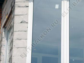 Balkon osteklennyj PVH ot pola do potolka 29 387x291 - Фото остекления балкона № 53