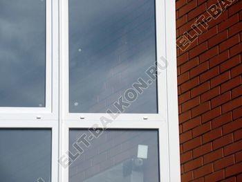 Balkon osteklennyj PVH ot pola do potolka 30 387x291 - Фото остекления балкона № 53