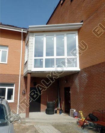 Balkon osteklennyj PVH ot pola do potolka 31 387x291 - Фото остекления балкона № 53