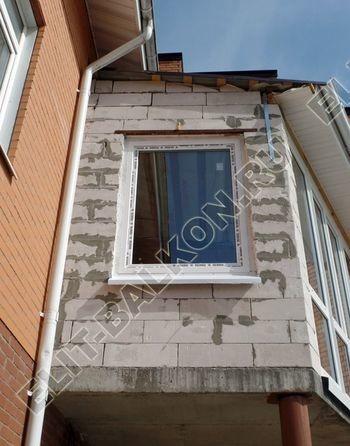 Balkon osteklennyj PVH ot pola do potolka 32 387x291 - Фото остекления балкона № 53