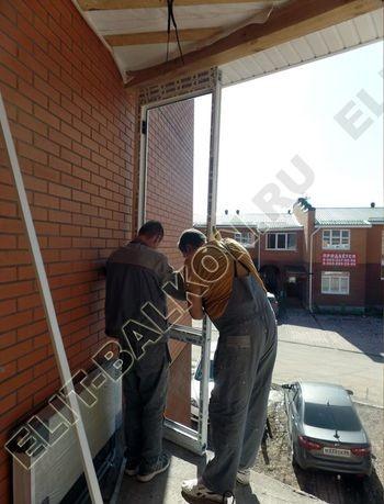 Balkon osteklennyj PVH ot pola do potolka 4 387x291 - Фото остекления балкона № 53