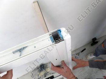 Balkon osteklennyj PVH ot pola do potolka 5 387x291 - Фото остекления балкона № 53