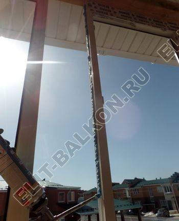 Balkon osteklennyj PVH ot pola do potolka 7 387x291 - Фото остекления балкона № 53