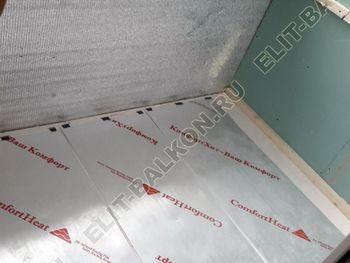 Osteklenie PVH lodzhii s betonnym parapetom vynos otdelka 11 1 387x291 - Фото остекления балкона № 52