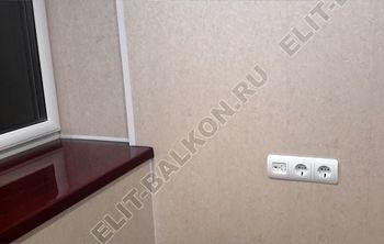 Osteklenie PVH lodzhii s betonnym parapetom vynos otdelka 19 387x291 - Фото остекления балкона № 52