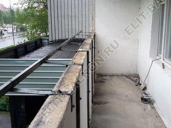 Osteklenie PVH lodzhii s betonnym parapetom vynos otdelka 3 1 387x291 - Фото остекления балкона № 52