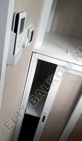 Osteklenie PVH lodzhii s betonnym parapetom vynos otdelka 38 387x291 - Фото остекления балкона № 52