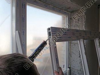 osteklenie balkona PVH s kryshej 35 387x291 - Фото остекления балкона № 47