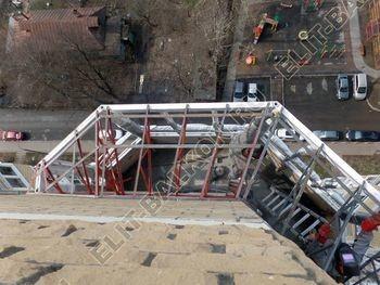 osteklenie balkona PVH s kryshej 40 387x291 - Фото остекления балкона № 47