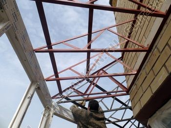 osteklenie balkona PVH s kryshej 41 387x291 - Фото остекления балкона № 47