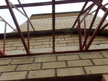 osteklenie balkona PVH s kryshej 42 387x291 - Фото остекления балкона № 47