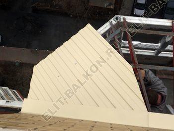 osteklenie balkona PVH s kryshej 43 387x291 - Фото остекления балкона № 47