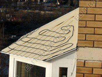 osteklenie balkona PVH s kryshej 66 387x291 - Фото остекления балкона № 47