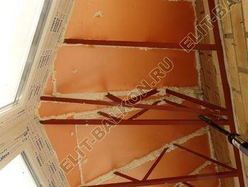 osteklenie balkona PVH s kryshej 71 387x291 - Фото остекления балкона № 47