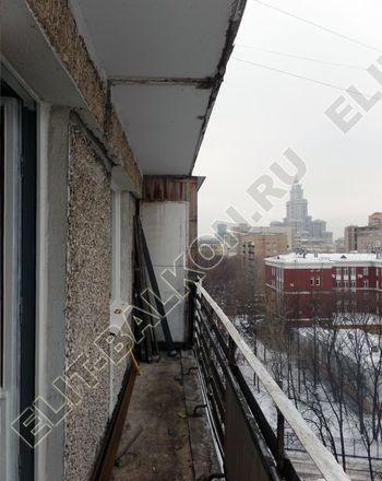 osteklenie lodzhii PVH ot pola do potolka s ukrepleniem plity 1 387x291 - Фото остекления балкона № 48