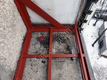 osteklenie lodzhii PVH ot pola do potolka s ukrepleniem plity 11 387x291 - Фото остекления балкона № 48
