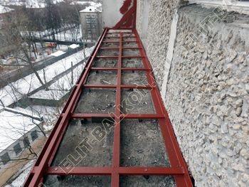 osteklenie lodzhii PVH ot pola do potolka s ukrepleniem plity 12 387x291 - Фото остекления балкона № 48