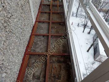 osteklenie lodzhii PVH ot pola do potolka s ukrepleniem plity 16 387x291 - Фото остекления балкона № 48
