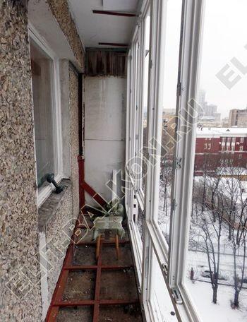 osteklenie lodzhii PVH ot pola do potolka s ukrepleniem plity 19 387x291 - Фото остекления балкона № 48