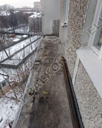 osteklenie lodzhii PVH ot pola do potolka s ukrepleniem plity 2 387x291 - Фото остекления балкона № 48