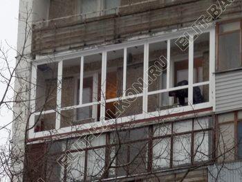 osteklenie lodzhii PVH ot pola do potolka s ukrepleniem plity 20 387x291 - Фото остекления балкона № 48