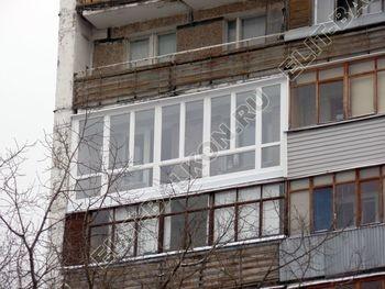 osteklenie lodzhii PVH ot pola do potolka s ukrepleniem plity 22 387x291 - Фото остекления балкона № 48