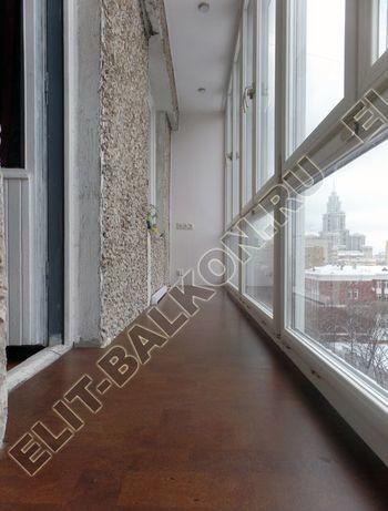 osteklenie lodzhii PVH ot pola do potolka s ukrepleniem plity 25 387x291 - Фото остекления балкона № 48