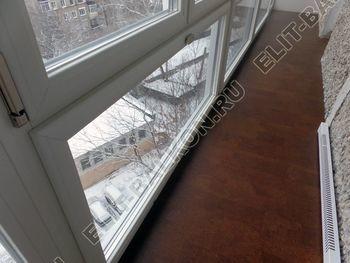 osteklenie lodzhii PVH ot pola do potolka s ukrepleniem plity 27 387x291 - Фото остекления балкона № 48