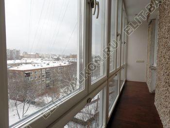 osteklenie lodzhii PVH ot pola do potolka s ukrepleniem plity 28 387x291 - Фото остекления балкона № 48