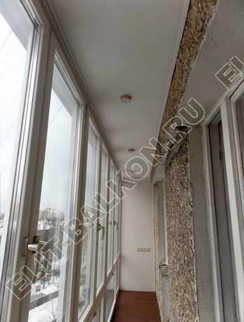 osteklenie lodzhii PVH ot pola do potolka s ukrepleniem plity 29 387x291 - Фото остекления балкона № 48