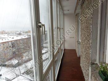 osteklenie lodzhii PVH ot pola do potolka s ukrepleniem plity 30 387x291 - Фото остекления балкона № 48