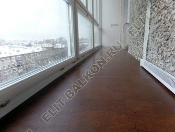 osteklenie lodzhii PVH ot pola do potolka s ukrepleniem plity 35 387x291 - Фото остекления балкона № 48