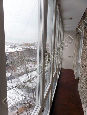 Фото остекления балкона № 48
