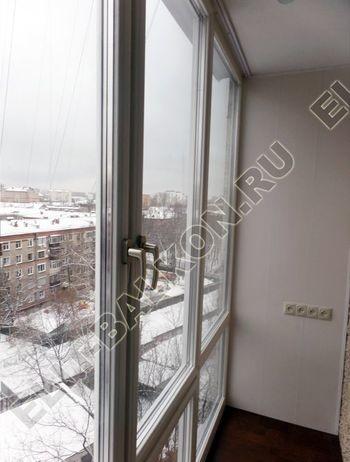 osteklenie lodzhii PVH ot pola do potolka s ukrepleniem plity 38 387x291 - Фото остекления балкона № 48