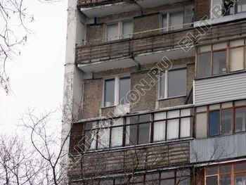 osteklenie lodzhii PVH ot pola do potolka s ukrepleniem plity 4 387x291 - Фото остекления балкона № 48