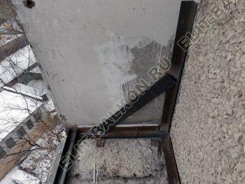 osteklenie lodzhii PVH ot pola do potolka s ukrepleniem plity 5 387x291 - Фото остекления балкона № 48