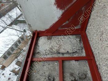 osteklenie lodzhii PVH ot pola do potolka s ukrepleniem plity 8 387x291 - Фото остекления балкона № 48