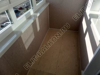 osteklenie lodzhii PVH s kryshej i vnutrennej otdelkoj 10 387x291 - Фото остекления балкона № 51